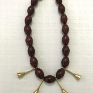 Rootsandleisure_Shop_Naga_Jewellery_Red Necklace_AoNecklace_bells